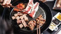 Ilustrasi barbekyu ala Korea. (dok. Pochajjang Korean BBQ)