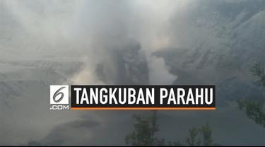 Erupsi terus menerus terjadi pada Gunung Tangkuban Parahu. Gunung Tangkuban Parahu juga mengeluarkan asap dan debu vulkanik setinggi 200 meter. Status gunung juga masih di level waspada.