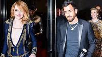 Sebuah kabar tak terduga mencuat, Emma Stone dan Justin Theroux, mantan suami Jennifer Aniston pergi bersama setelah acara Met Gala 2018 (Instagram/@divadiaries)