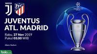 Liga Champions - Juventus Vs Atletico Madrid (Bola.com/Adreanus Titus)
