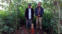 Warga menyebut lokasi penemuan nisan misterius itu sebagai Camp Turki. Sumber foto: Babinsa Kelurahan Andir, Kabupaten Bandung/Serma Dodi. (Liputan6.com/Arie Nugraha)