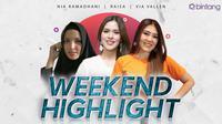 Weekend Highlight Nia Ramadhani, Raisa, Via Vallen (Foto: Nia Ramadhani: instagram.com/ramadhaniabakrie, Raisa: Nurwahyunan/bintang.com, Via Vallen: Nurwahyunan/bintang.com)