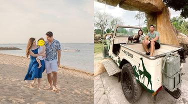 6 Momen Liburan Samuel Zylgwyn dan Franda di Bali Zoo, Nikmati Rekreasi Keluarga