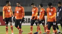 Asosiasi Sepak Bola Thailand (FAT) mengonfirmasi penundaan kembali Liga Thailand sampai Mei 2020. (AFP/Jiji Press)