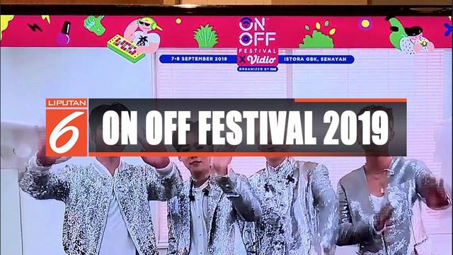 Acara On Off Festival 2019 yang diisi content creator terkenal akan digelar 7 sampaai 8 September.
