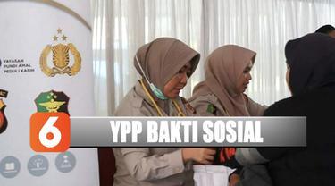 YPP SCTV-Indosiar bersama Polda Jabar ikuti bakti sosial kesehatan di Bandung, jawa Barat.