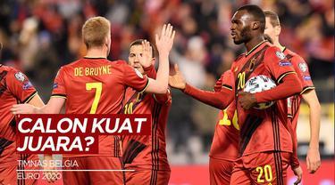 Berita Video Melihat Skuat Belgia, Calon Kuat Juara di Euro 2020 (2021)