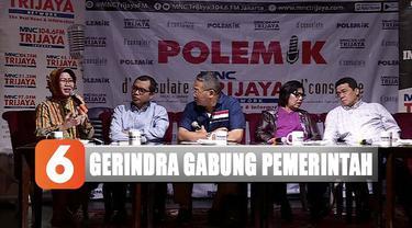 Menurut Riza, Gerindra akan membantu pemerintah dalam menjalankan pemerintahan.