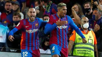 Klasemen La Liga Spanyol: Barcelona Semakin Tertinggal dari Real Madrid