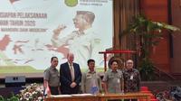 MoU itu disaksikan oleh Menteri Pertanian Syahrul Yasin Limpo.