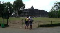 Candi Borobudur di kawasan Muntilan, Kabupaten Magelang, Jawa Tengah. (Liputan6.com/Switzy Sabandar)