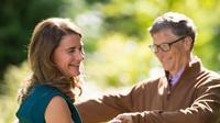Melinda Gates dan Bill Gates. (Instagram/ melindafrenchgates)