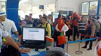 Suasana Stasiun Besar Purwokerto, Jawa Tengah. (Liputan6.com/KAI Daop 5 untuk Muhamad Ridlo)