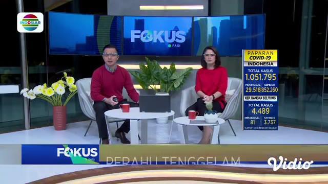 Fokus Pagi menyajikan beberapa berita di antaranya, Gudang Pengolahan Karet Terbakar, Dua Kelompok Warga Bentrok, Jenazah Tertukar, Keluarga Mengamuk, Naga Laut Jakarta Akuarium.
