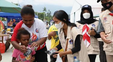 Relawan Protokol Kesehatan PON XX Papua