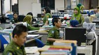Pegawai Negeri Sipil (PNS) Pemprov DKI Jakarta.