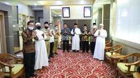 Forpess Pagar Alam beraudiensi dengan Gubernur Sumsel dalam rangka menjalankan program 1 desa 1 rumah tahfidz (Dok. Humas Pemprov Sumsel / Nefri Inge)