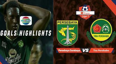 Berita video gol-gol yang tercipta pada pertandingan Persebaya Surabaya melawan Tira Persikabo dalam lanjutan Shopee Liga 1 2019, Minggu (21/7/2019).