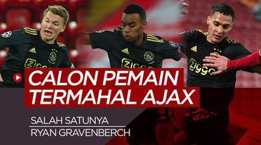 Motion grafis 5 calon pemain termahal Ajax, dapatkah mengalahkan nilai transfer Frenkie De Jong ke Barcelona?