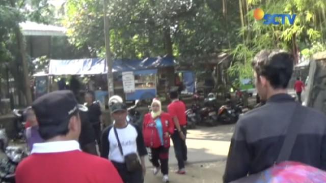 Peringatan Hari Olahraga Nasional di Stadion Pajajaran kota Bogor Jawa Barat diwarnai insiden.