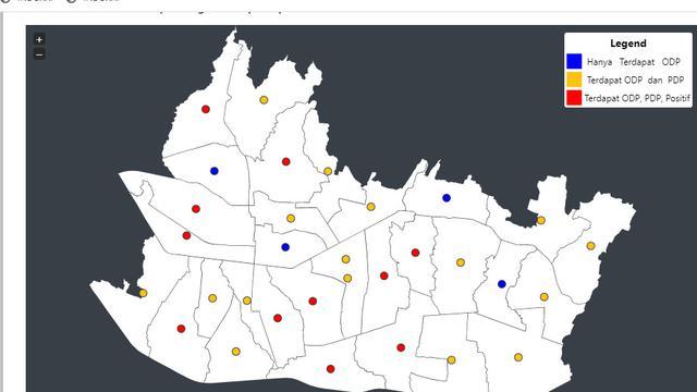 Pemkot Rilis Peta Sebaran Pandemi Covid 19 Di Bandung Health Liputan6 Com