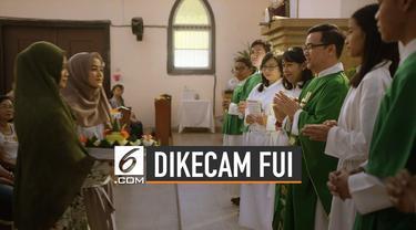 Forum Umat Islam (FUI) mengecam dua adegan di trailer film The Santri.