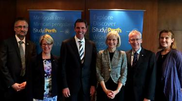 Menteri Pendidikan Australia Kenalkan Perth Sebagai Kota Pelajar
