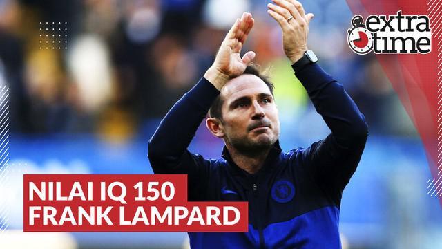 Berita video Extra Time kali ini membahas secara singkat kisah Frank Lampard mendapat nilai 150 saat ada tes IQ (Intelligence Quotient) untuk para pemain Chelsea.