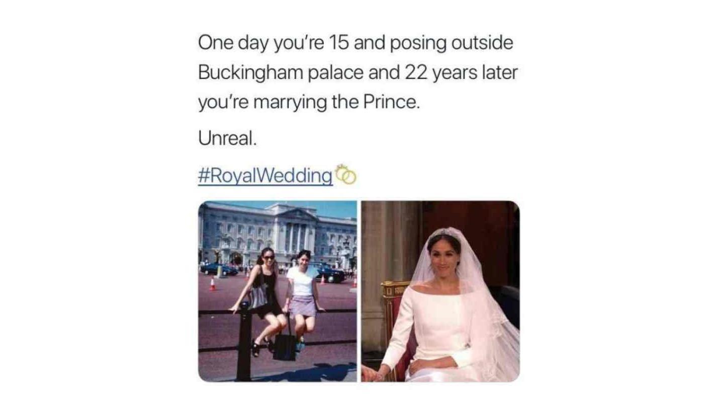 Meme Meghan Markle dinikahi Pangeran Harry (Sumber: Istimewa)