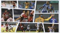 BRI Liga 1 - Kolase Pertandingan Pekan Pertama (Bola.com/Adreanus Titus)