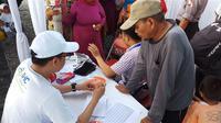 Nelayan Muara Angke didera penyakit nyeri sendi dan otot. (Liputan6.com/Fitri Haryanti Harsono)
