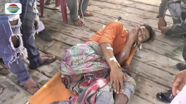 Tiga nelayan Tanjungbalai ditembak orang tak dikenal saat cari kerang di perairan Bagansiapiapi.