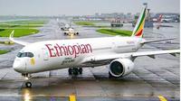 Ethiopian Airlines Tetap Layani Rute Penerbangan ke China. (dok.Instagram @bertrand.cosse.1_a350/https://www.instagram.com/p/B6xrByUhQIY/Henry)