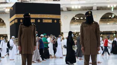 Polisi Wanita Saudi