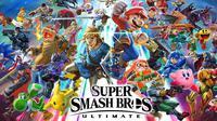 Super Smash Bros Ultimate versi bajakan sudah beredar di internet. (Doc: Nintendo)