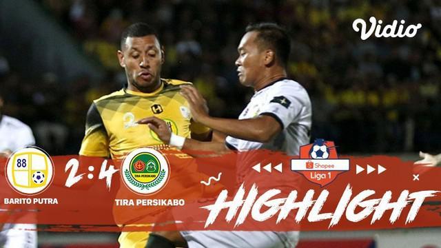 Laga lanjutan Shopee Liga 1, PS Barito Putera VS PS TIRA Persikabo berakhir imbang dengan skor 2-4 #shopeeliga1 #ps barito putera ...