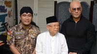 Deddy Corbuzier saat bertamu ke kediaman Ma'ruf Amin yang terletak di kawasan Menteng, Jakarta Pusat, Jumat (21/6/2019). (KapanLagi.com/Bayu Herdianto)