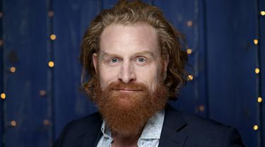 Aktor Kristofer Hivju saat menghadiri IMDb Studio di Park City, Utah, Amerika Serikat, 25 Januari 2020. Bintang Game of Thrones ini menyatakan dirinya positif terinfeksi virus corona COVID-19. (Rich Polk/Getty Images for IMDb/AFP)
