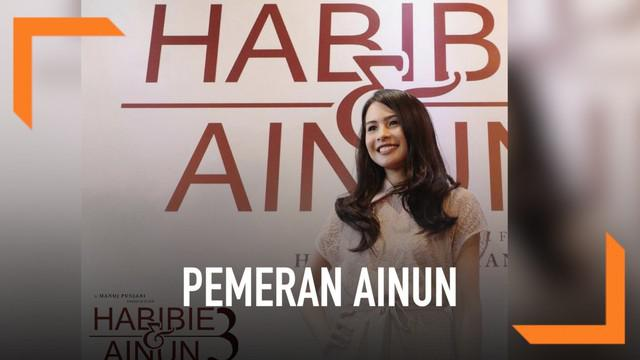 Untuk film Habibie & Ainun 3, sosok Ainun yang sebelumnya diperankan Bunga Citra Lestari digantikan oleh Maudy Ayunda. Pergantian peran ini telah disetujui B.J. Habibie. Perubahan pemeran karena film ini akan mengisahkan masa remaja Ainun.