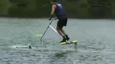 Suatu penemuan cerdas untuk berjalan di permukaan air.