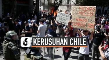 Pemerintahan Chile menghidupkan status darurat nasional seiring dengan kerusuhan yang terus timbul setelah demonstrasi menolak harga tiket transportasi pecah.
