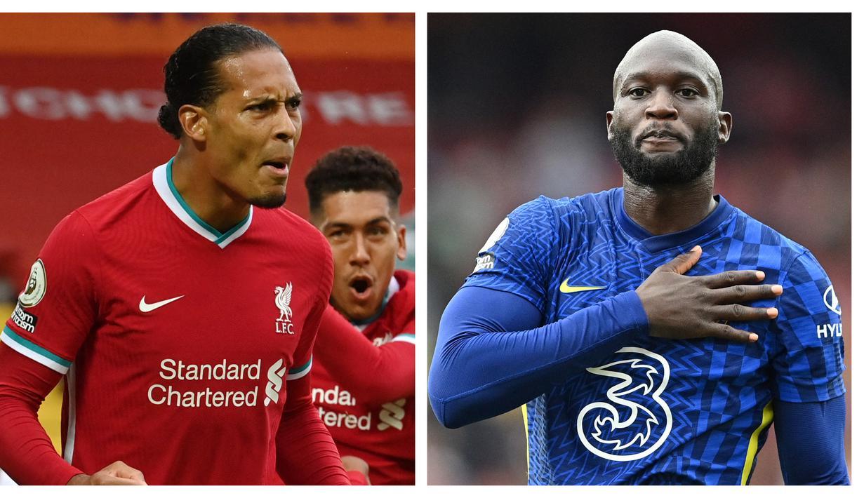 Big match antara dua tim papan atas klasemen sementara Liga Inggris 2021/2022, Liverpool kontra Chelsea akan tersaji di Anfield Stadium, Sabtu (28/8/2021). Kedua tim sama-sama memiliki komposisi pemain terbaik dalam skuat-nya. Berikut 6 pemain kunci kedua tim. (Foto: Kolase AFP)