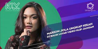 Marion Jola Ungkap Kisah di Balik Layar Video Klip Jangan