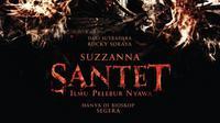 Poster Suzzanna: Santet Ilmu Pelebur Nyawa. (Soraya Intercine Films)