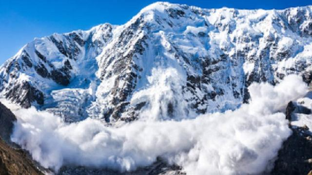 Ilustrasi longsor salju (iStock)