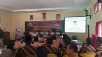 Suasana Musrenbang Kecamatan Tanggungharjo. (foto: Liputan6.com/Erlinda PW)