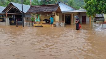 Banjir Bandang Melanda Gorontalo, Ratusan Rumah Terendam