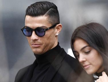 Potret Kemesraan Cristiano Ronaldo dan Georgina Rodriguez, Setia Kala Suka Maupun Duka