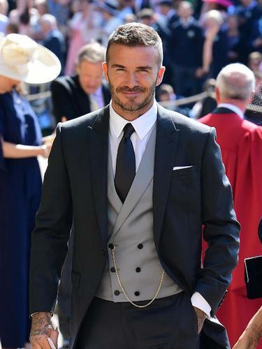 [Bintang] David Beckham di Royal Wedding
