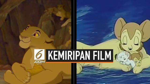 Kesuksesan film The Lion King tidak diragukan lagi. Namun, dibalik kesuksesannya tersebut, ternyata ada yang mengungkapkan mengenai kemiripan film itu dengan film Simba The White Lion buatan Jepang. Bagaimana menurut Anda?